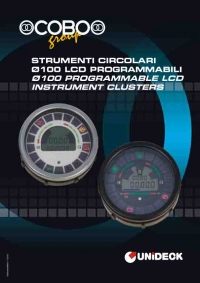 �100 PROGRAMMABLE LCD INSTRUMENT CLUSTERS
